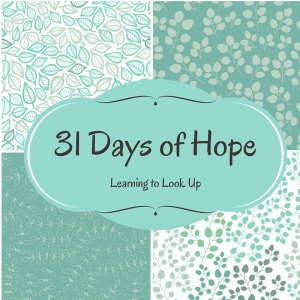 31 Days of Hope button